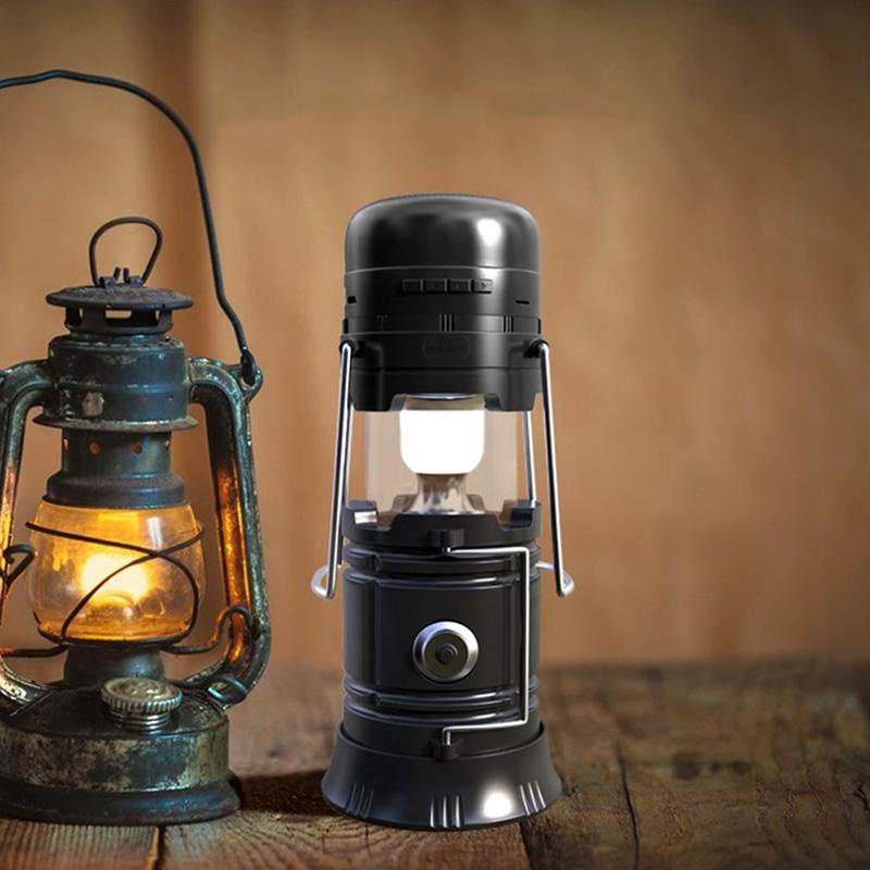 Boxa bluetooth in forma de lampadar