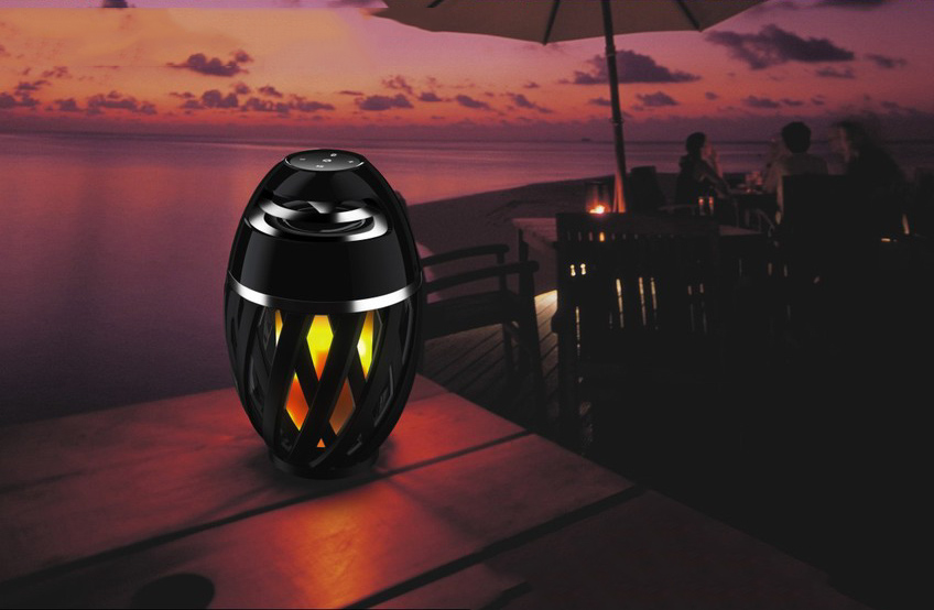 Boxa portabila LED Bonfire