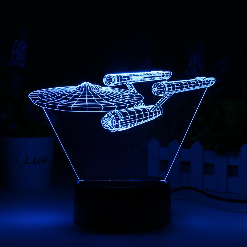 Lampa LED Star Trek