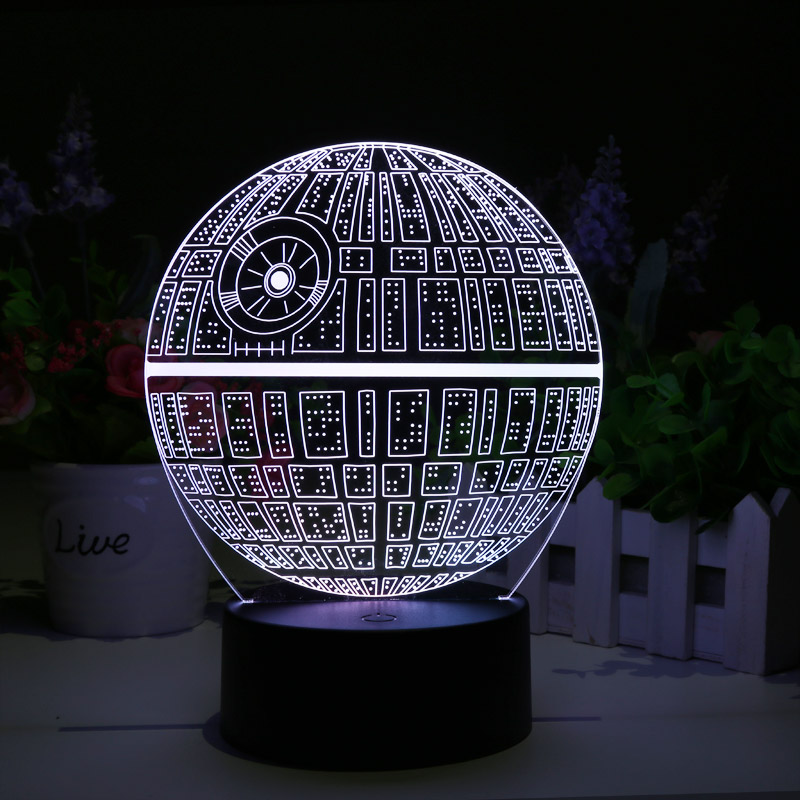 Lampa Led Death Star