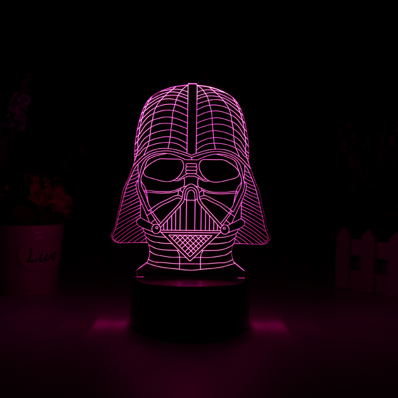 Lampa LED Star Wars