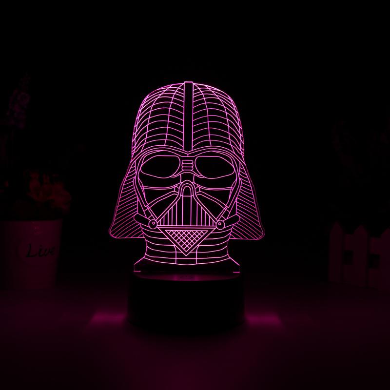 Lampa LED Star Wars