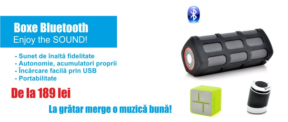Boxe portabile Bluetooth