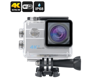 Action Camera, Camera Video Sport 4K, 16MP Wi-Fi