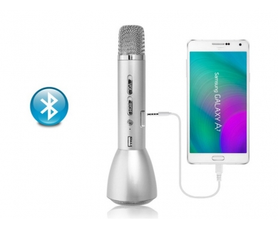 Microfon Wireless Karaoke si Power Bank