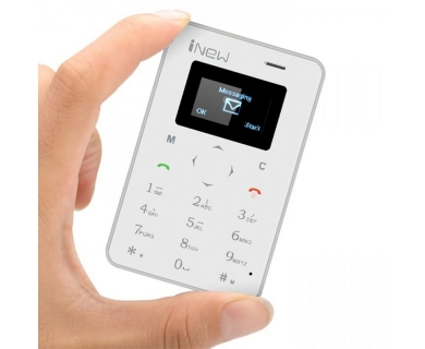 Mini telefon smart GSM Bluetooth, carte de vizita