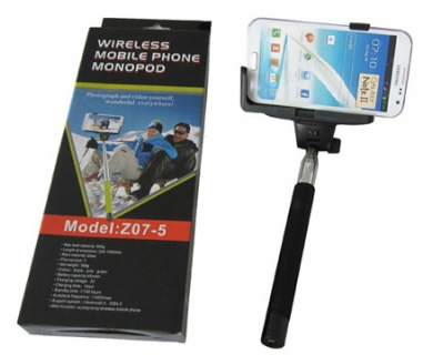 Monoped selfie stick bluetooth, bat foto selfie