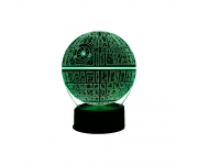 Lampa LED Sar Wars DEATH STAR