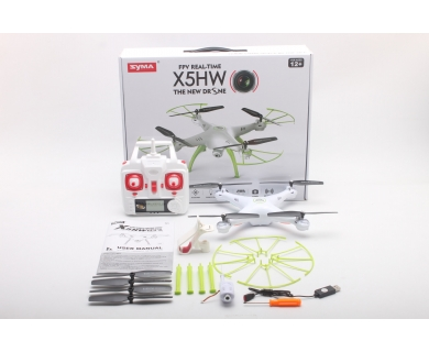 Syma X5HW  2.4GHz drona 360 cu camera video si telecomanda