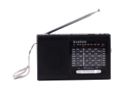 Mini Radio retro vintage cu Bluetooth, Slot card SD si USB