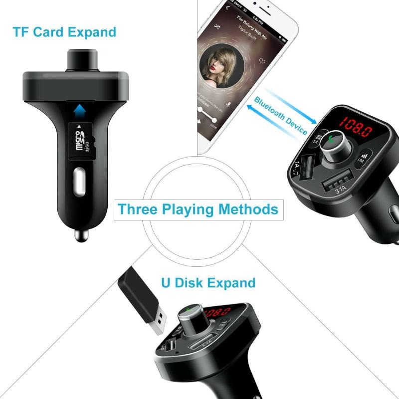 Kit Bluetooth Auto Fm
