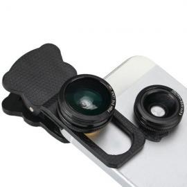 Kit 4in1 Lentile universale pentru Smartphone
