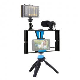 Kit profesional pentru vlogging cu lampa LED