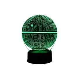 Lampa LED Star Wars DEATH STAR