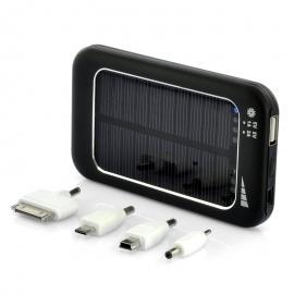 Acumulator extern solar, powerbank 4500 mAh